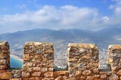 Die Türkei, Alanya-Schloss Lizenzfreie Stockfotografie