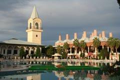 Die Türkei. Antalya. Hotel Topkapi Palast Stockfotografie