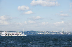 Die Türkei benennt Bosporus-Brücken-'am 15. Juli Märtyrer' Brücke' um Stockfotografie