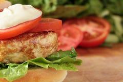 Die Türkei-Burger. Stockfotografie