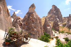 Die Türkei Cappadocia stockfotos