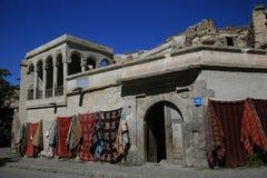 Die Türkei-cappadocia Landschaft Lizenzfreies Stockfoto