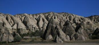 Die Türkei-cappadocia Landschaft Stockbild