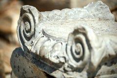 Die Türkei, Ephesus, Ruinen der alten römischen Stadt Lizenzfreie Stockfotos