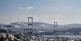 Die Türkei, Istanbul, Ansicht der Stadt Stockfoto