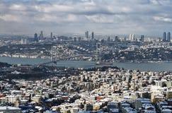 Die Türkei, Istanbul, Ansicht der Stadt Lizenzfreie Stockfotografie