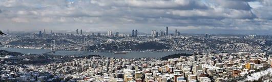 Die Türkei, Istanbul, Ansicht der Stadt Stockbild