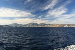 Die Türkei-Küste Stockfotos