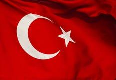 Die Türkei-Markierungsfahne lizenzfreie stockbilder