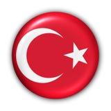 Die Türkei-Markierungsfahne Lizenzfreie Stockfotos