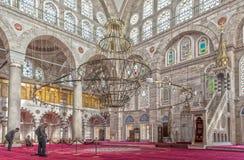 Die Türkei Mihrimah Sultans-Moschee Lizenzfreies Stockbild