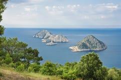 Die Türkei-Seelandschaft Stockbild