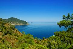 Die Türkei-Seelandschaft Stockfotos