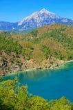 Die Türkei-Seelandschaft Lizenzfreies Stockbild