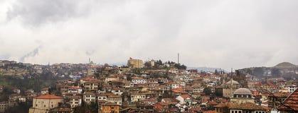 Die Türkei-Stadt im Schatten der Welt Lizenzfreie Stockfotos
