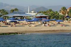 Die Türkei-Strand Stockfoto