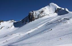 Die Türkei, zentraler Taurus Mountains, Ansicht Aladaglar (Anti-Stier) von der Hochebene Edigel (Yedi Goller) Lizenzfreies Stockbild