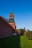 Die Türme Moskau der Kreml Stockfoto