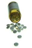 Die Tabletten zu den medizinischen Zwecken Lizenzfreies Stockfoto