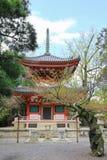 Die Tahoto-Pagode von Chion-im Tempel in Kyoto, Japan stockbild