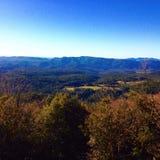 Die Tal-Ansicht Stockfoto