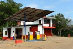 Die Tankstelle Stockbild