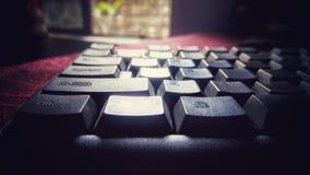 Die Tastatur Stockfotografie