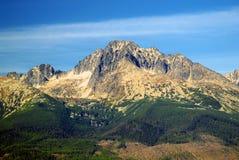 Die Tatra Berge am Sommer Stockfoto