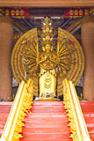 Die tausend Handbuddha-Statue Stockfoto