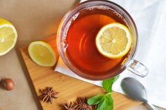 Die Teeparty Stockbild