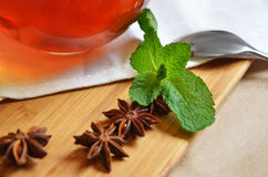 Die Teeparty Lizenzfreie Stockfotografie