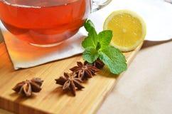 Die Teeparty Stockfotos
