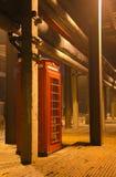 Die Telefonzelle Lizenzfreies Stockfoto