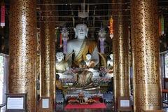 Die Tempel-Buddhismus-Gott-Goldreise-Religion Buddhas Thailand stockfoto