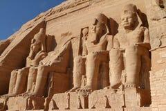 Die Tempel von Abu Simbel in Ägypten Stockfoto