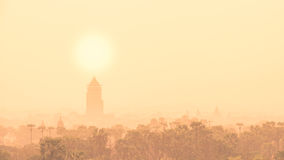 Die Tempel von, Bagan bei Sonnenaufgang, Myanmar Lizenzfreie Stockfotografie