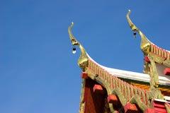 Die Tempelkirche ist der Anker des buddhistischen Verstandes Stockfotos
