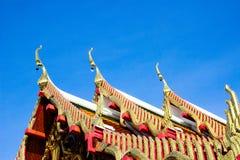 Die Tempelkirche ist der Anker des buddhistischen Verstandes Stockbild