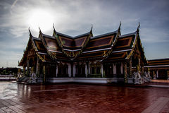 Die Tempelkirche ist der Anker des buddhistischen Verstandes Lizenzfreies Stockbild