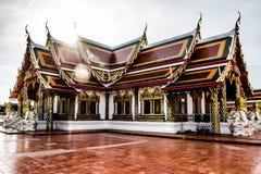 Die Tempelkirche ist der Anker des buddhistischen Verstandes Lizenzfreies Stockfoto