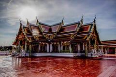 Die Tempelkirche ist der Anker des buddhistischen Verstandes Lizenzfreie Stockfotos