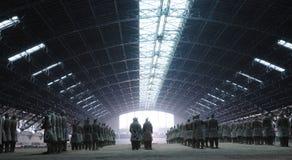 Die Terrakotta-Armee Stockfotos