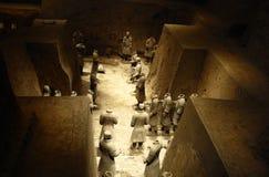 Die Terrakotta-Armee Stockbild