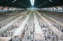 Die Terrakotta-Armee der erste Kaiser von China Lizenzfreies Stockfoto