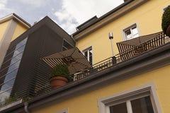 Die Terrasse Stockfoto