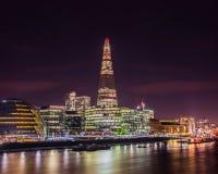 Die Themse-Bank Stockbild
