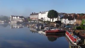Die Themse, Henley auf Themse stockbilder