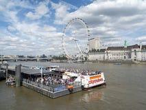 Die Themse-Kreuzfahrt Lizenzfreie Stockfotografie