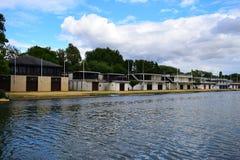 Die Themse in Oxford II Lizenzfreie Stockfotos