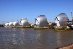 Die Themse-Sperre Lizenzfreie Stockfotos